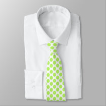 The Green points Neck Tie