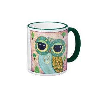 The Green Revival Ringer Coffee Mug