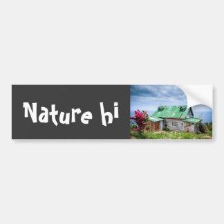 the green roof bumper sticker