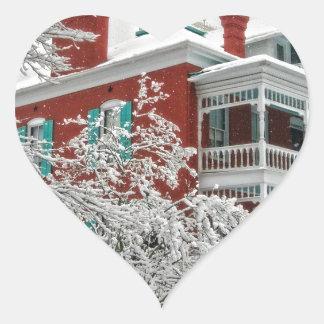 The Green Roof Inn Heart Sticker