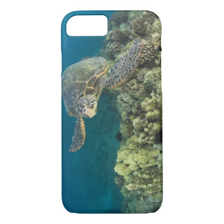 The Green Sea Turtle, (Chelonia mydas), is the 2 iPhone 8/7 Case