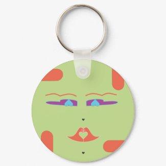 The Green Sponap--Innili keychain