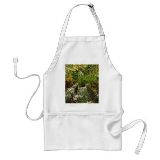 The Green Stairway Adult Apron