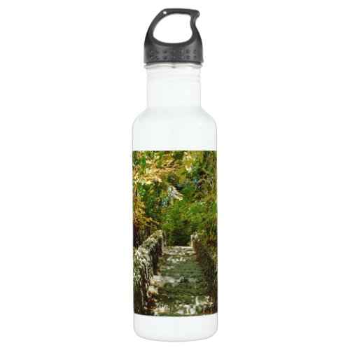 The Green Stairway Stainless Steel Water Bottle