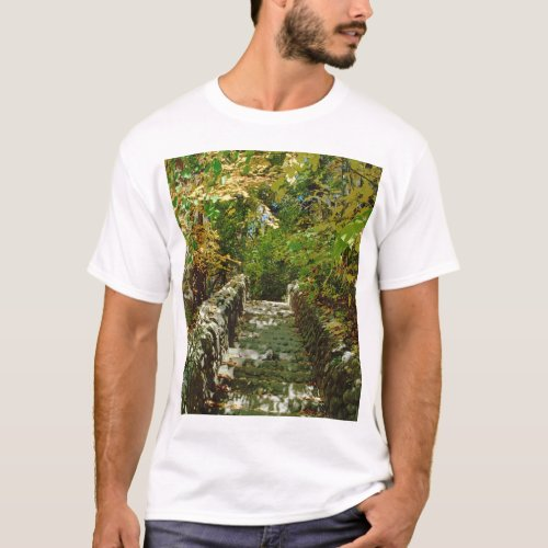 The Green Stairway T-Shirt