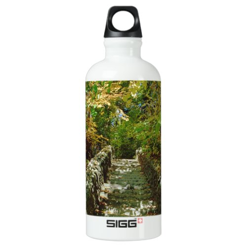 The Green Stairway Water Bottle