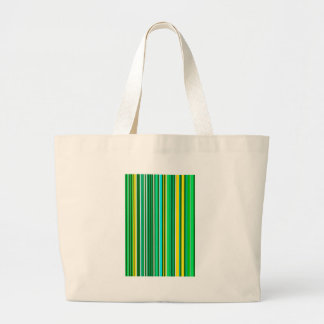 The Green strip of spring Large Tote Bag