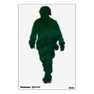 The Green Warrior Wall Decal