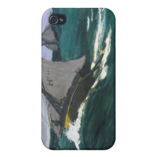 The Green Wave - Claude Monet iPhone 4/4S Cover