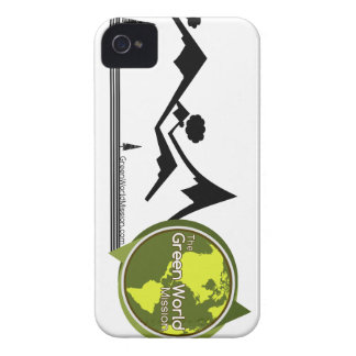 The Green World Mission Case-Mate iPhone 4 Cases
