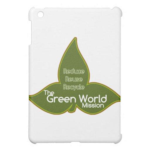The Green World Mission iPad Mini Cover
