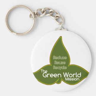 The Green World Mission Keychain
