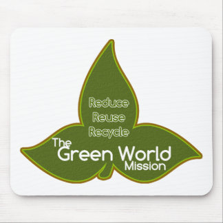 The Green World Mission Mouse Pad