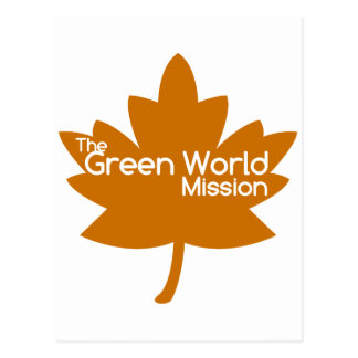 The Green World Mission Postcard