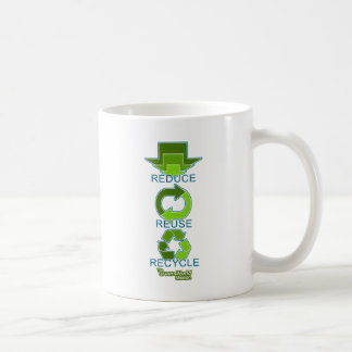 The Green World Mission - Reduce, Reuse, Recycle Coffee Mug