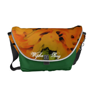 The Green Yellow Bag Courier Bag
