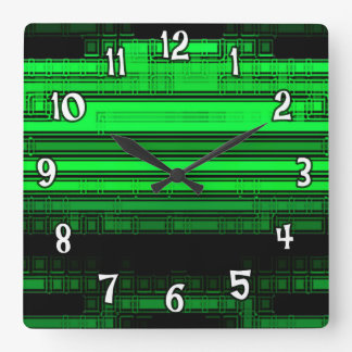 The Green Zone Wall Clock
