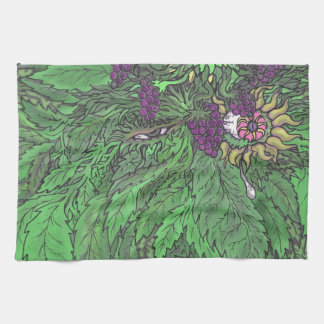 The Greenman TEO.png Kitchen Towel