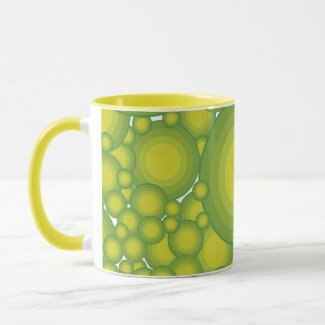 The Greens bubbles Mug
