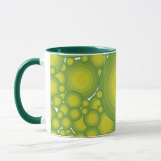 The Greens bubbles Mug