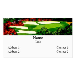 The Greens Business Cards