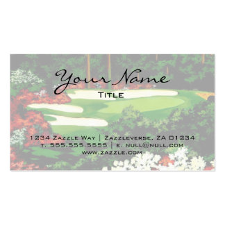 The Greens Double-Sided Standard Business Cards (Pack Of 100)