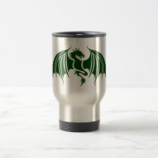 the Greens dragon green dragon Travel Mug