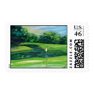 The-Greens postage stamp
