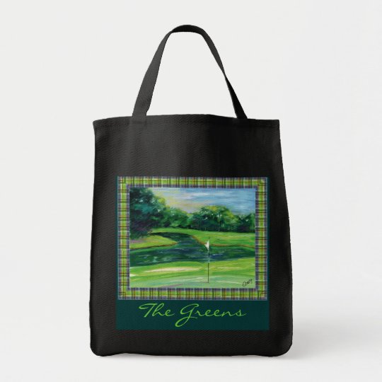 The Greens tote bag