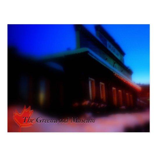 The Greenwood Museum Postcard