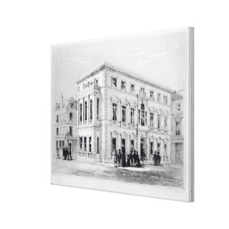 The Gresham Club Canvas Print