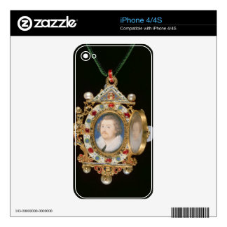 The Gresley Jewel, with miniature portraits of Sir Decal For The iPhone 4S