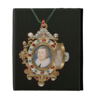 The Gresley Jewel, with miniature portraits of Sir iPad Folio Cover