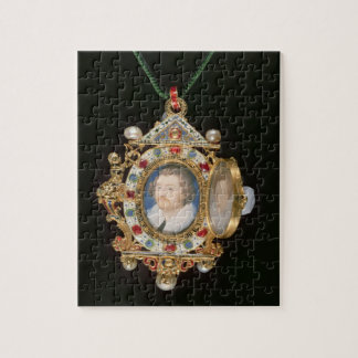 The Gresley Jewel, with miniature portraits of Sir Jigsaw Puzzle