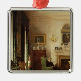 The Grey Drawing Room Metal Ornament
