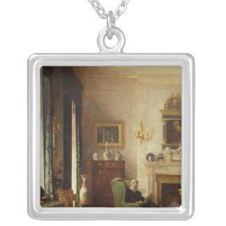 The Grey Drawing Room Silver Plated Necklace