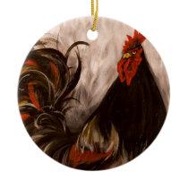 """The Grey Earl"" Art Ornament"