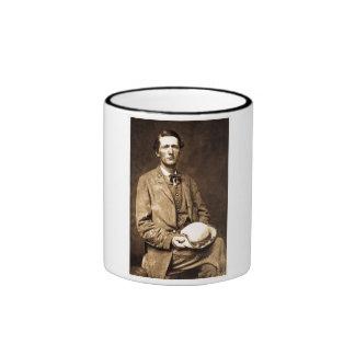 The Grey Ghost Col. John S. Mosby Ringer Coffee Mug