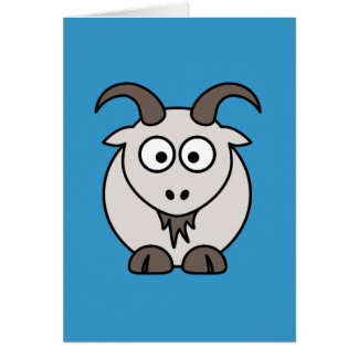 The Grey Goat selection Greeting Card