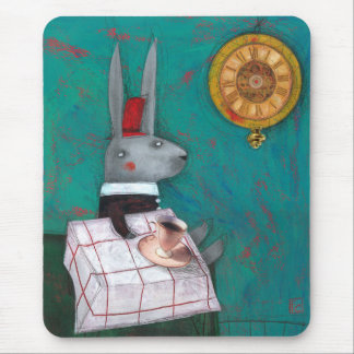 The Grey Rabbit Mouse Pad
