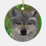 THE GREY WOLF ornament