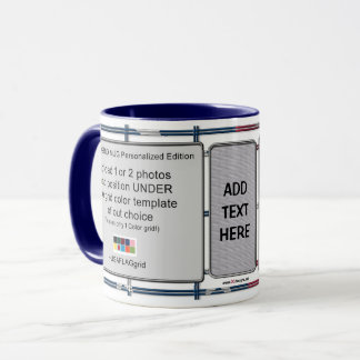 The Grid Mug Personalized Edition