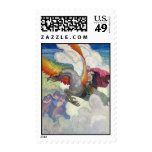 The Griffin by NC Wyeth Stamp