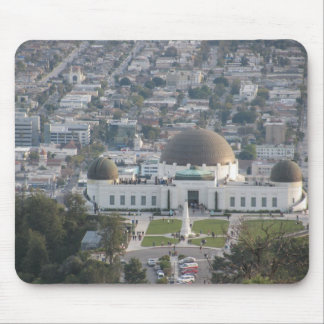 The Griffith Observatory Mouse Pad
