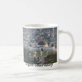 The Griffith Observatory Classic White Coffee Mug
