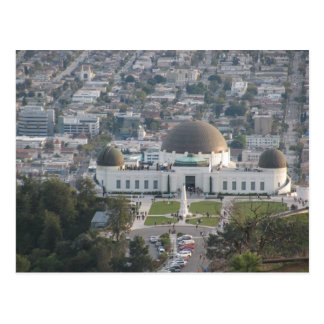 The Griffith Observatory Postcard