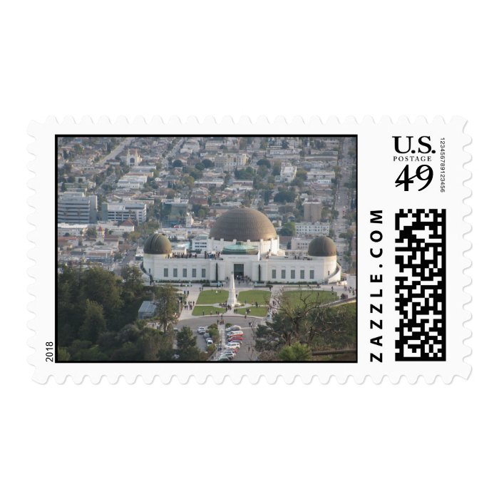 The Griffith Observatory Stamp