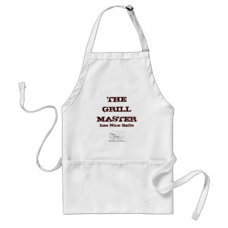 The Grill Master has Nice Balls Adult Apron