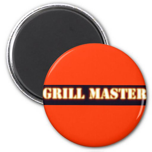 The Grill Master Magnets