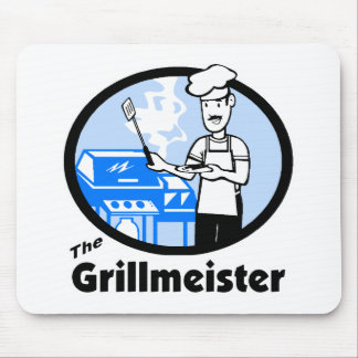 The Grillmeister Mouse Pad